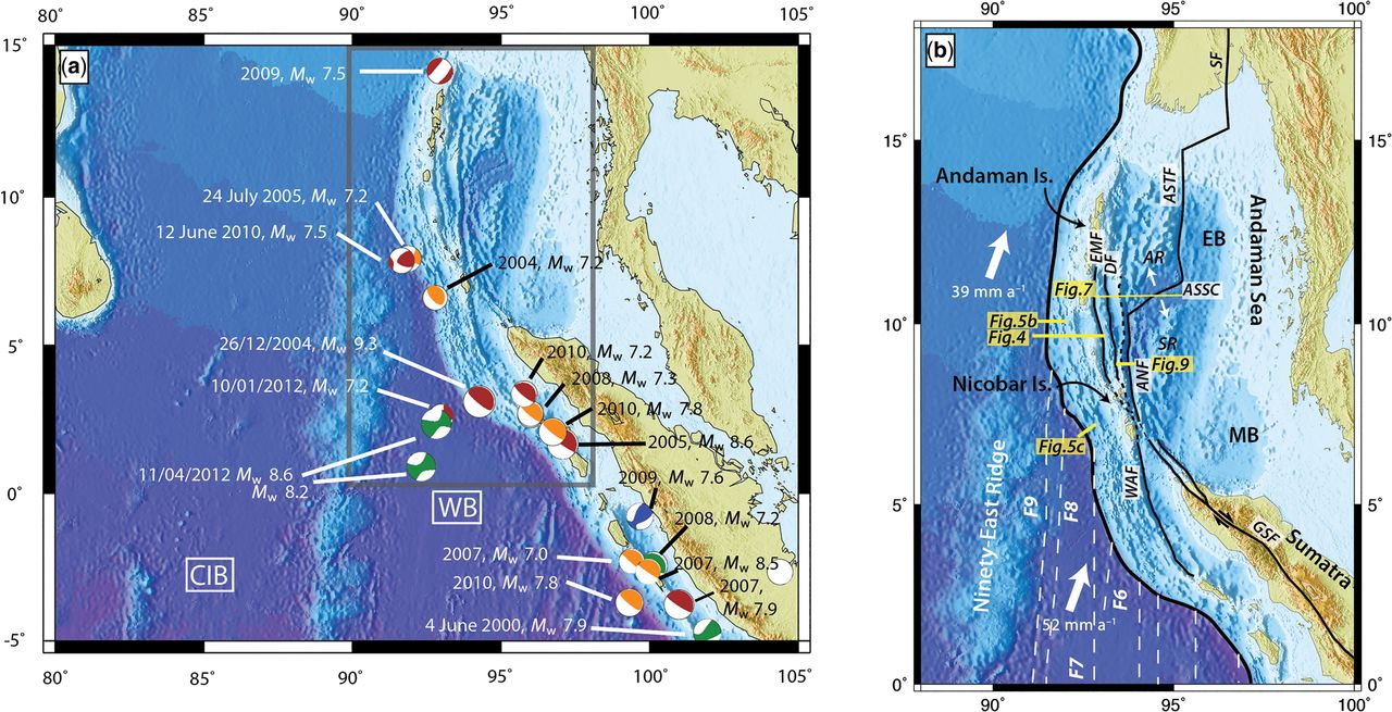 Chapter 13 Anatomy Of The Andaman Nicobar Subduction