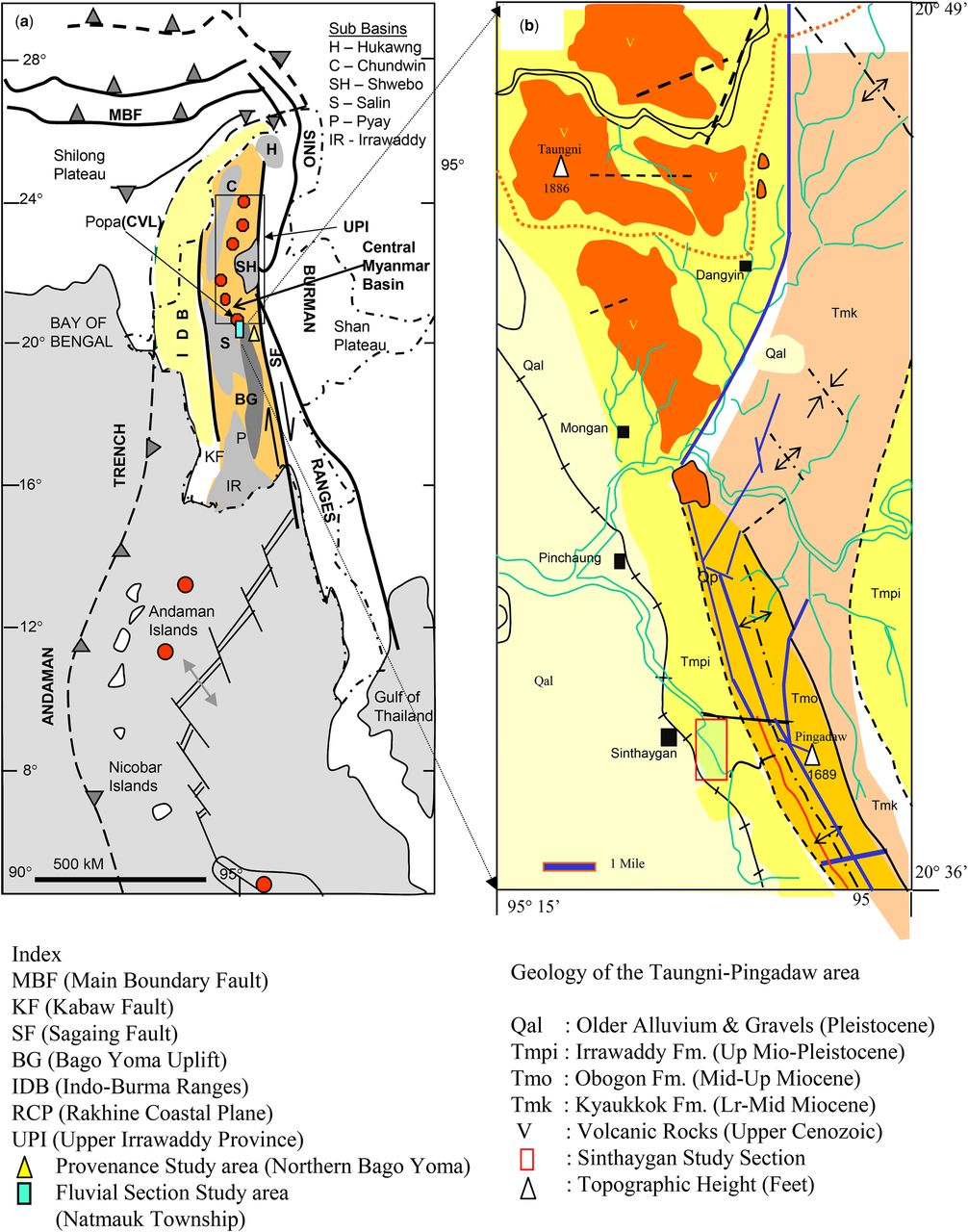 Chapter 7 Cretaceous geology of Myanmar and Cenozoic geology
